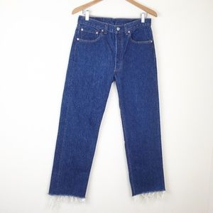 VTG 80s LEVIS 501XX Denim Jeans 30x28 USA MADE STF